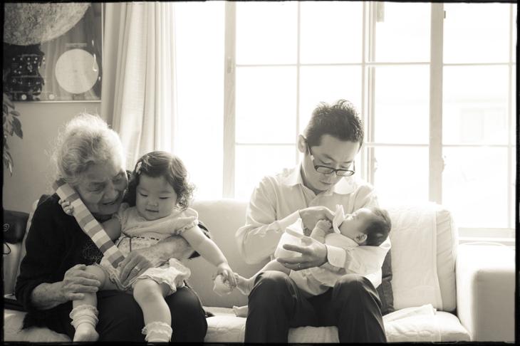 家族写真、記念写真の撮影