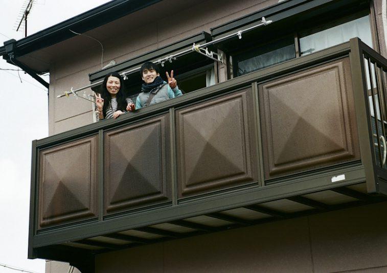 ユウキさんユリさんのお家に着きました