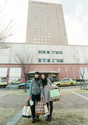 お二人がこだわった会場は和歌山城のすぐ近く