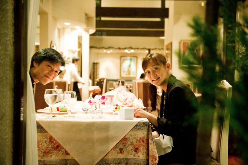おふたりの撮影は6月の食事会からはじまりました