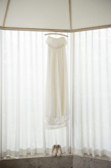 ウェディングドレスを見ると一気に気分が盛り上がります
