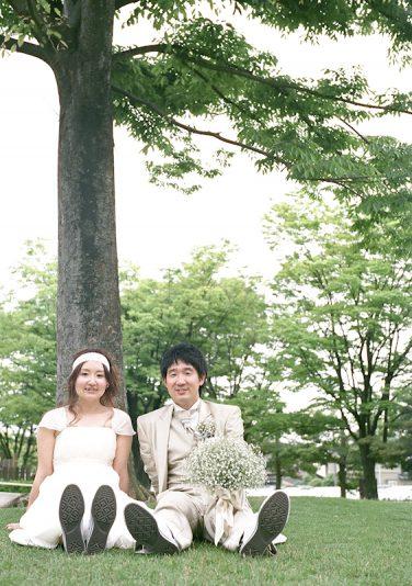 タケフミさん、ユウコさん、ありがとうございました。 お二人らしい自然体の結婚式、とても楽しかったです!!
