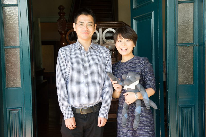 主役のマコトさんとジュンコさん。よろしくお願いします!