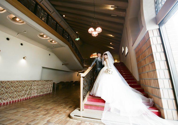 きょうはマサノリさんとミユキさんの結婚式
