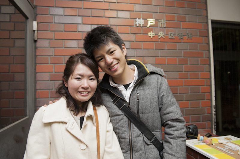 おめでとうございます・ユーキさん、カヨコさん、楽しい一日をご一緒させていただきありがとうございました!!