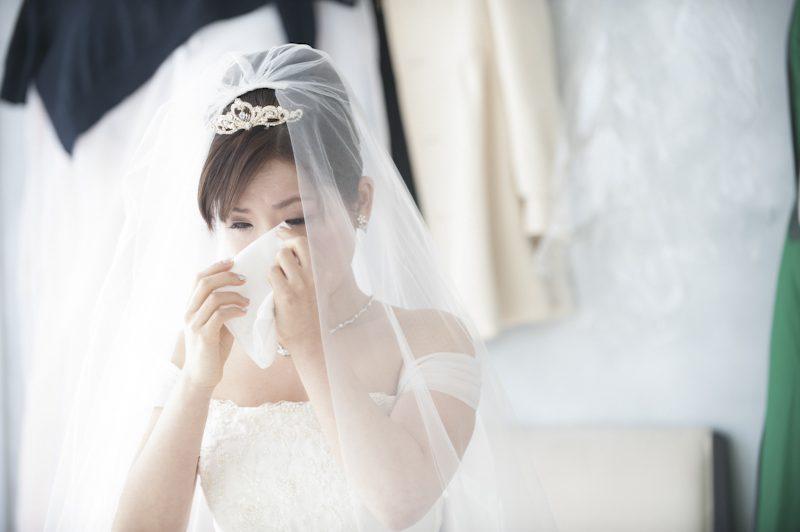 カヨコさんの眼には感激の涙