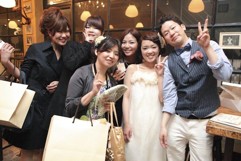 おふたりらしい爽やかな一日になりました。 タケシさん、モエコさん、ありがとうございました!