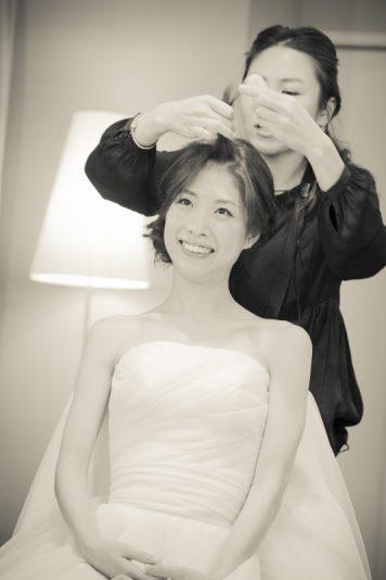 ヒカリさんの結婚式です。 1日よろしくお願いします。