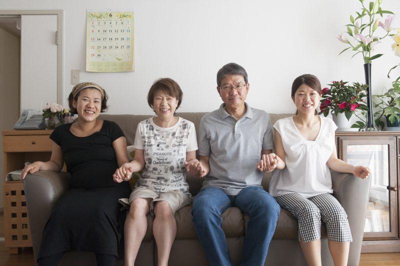 ハマモト家の家族写真を撮るのはこれで2回目
